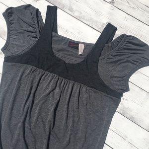 Dresses & Skirts - Torrid Cold Shoulder Tunic Dress